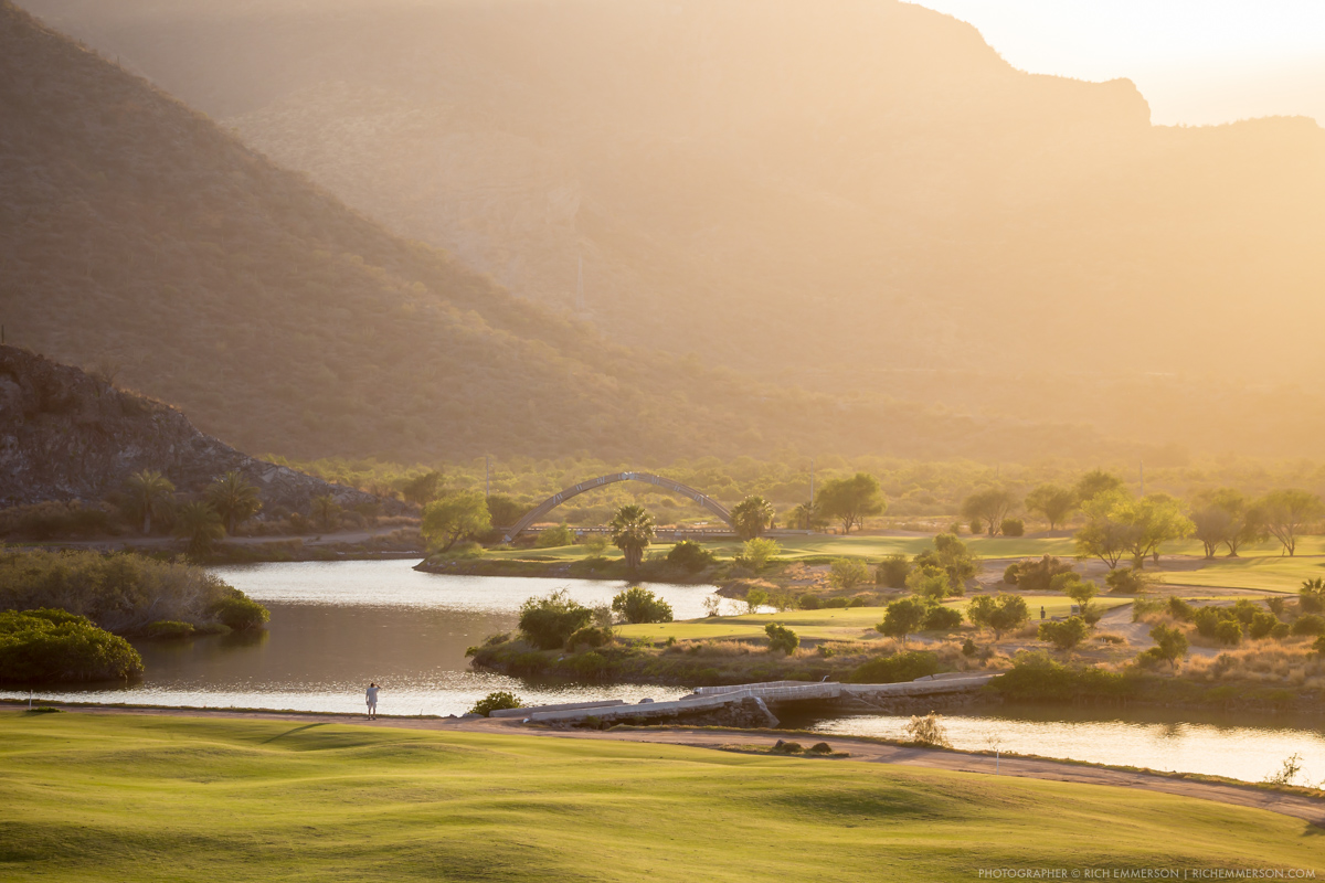 Loreto Bay Golf Course Sunset