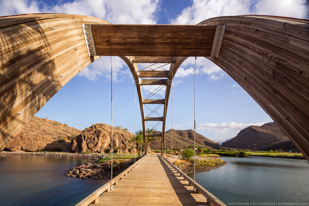 Loreto Bay Golf Course Wooden Bridge