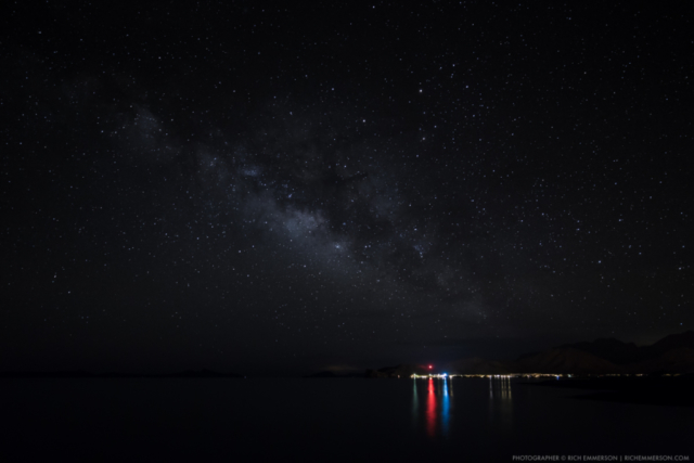 Milkyway over Loreto Bay