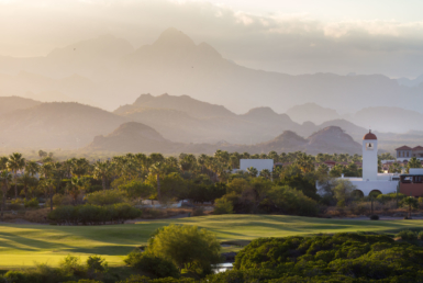 Over looking Loreto Bay Golf Course and Bell Tower