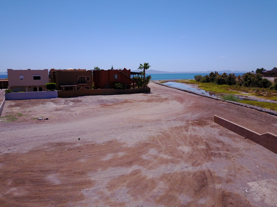 Large Costa Loreto ocean view lot for sale