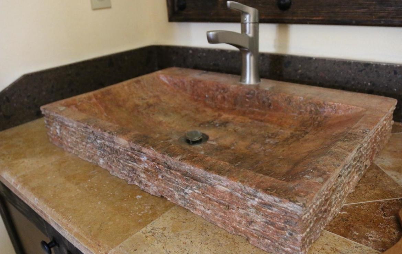 Casa Blanca brown tile home