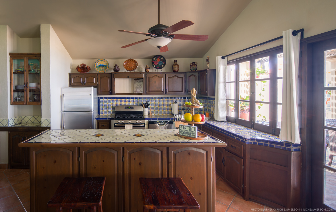 beach front kitchen home