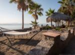 beach front rest place