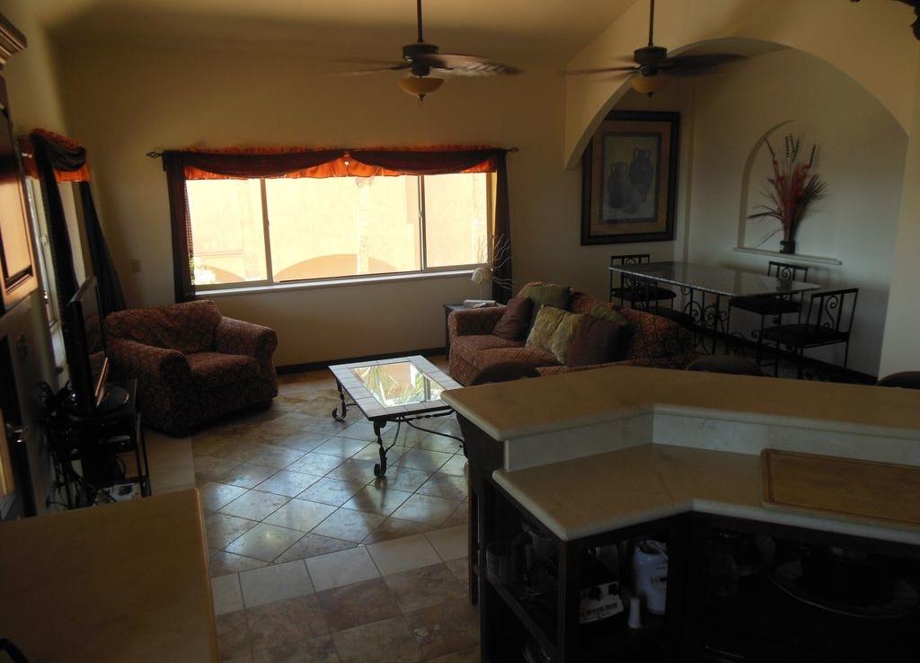 living room area house