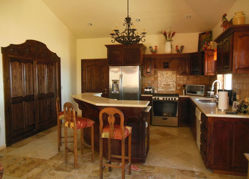 open kitchen home