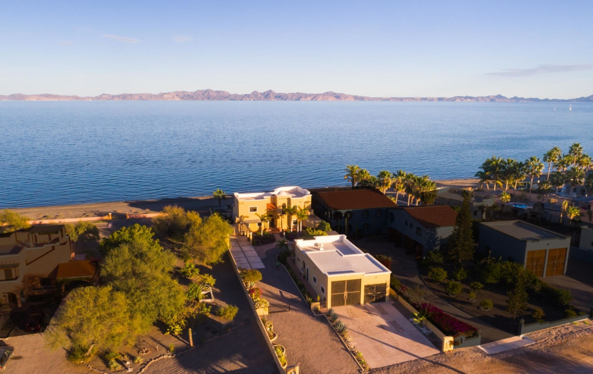 Oceanfront Villa for Sale Loreto