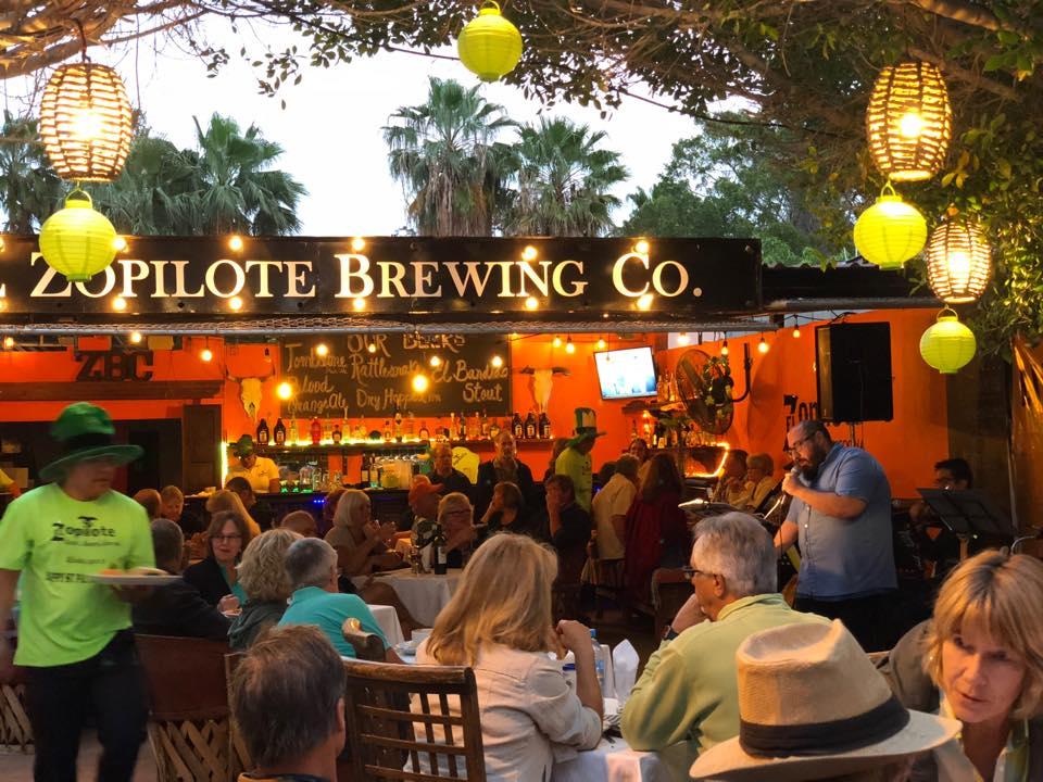El Zopilote Brewery & Cocina in Loreto Mexico