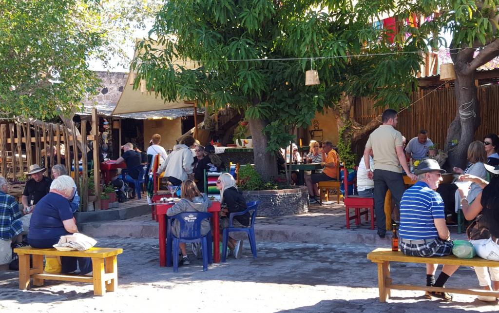 Mi Loreto Restaurant in Loreto Mexico