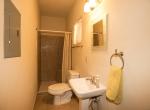 Bathroom off of Den