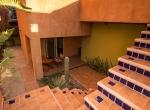 Light filled courtyard